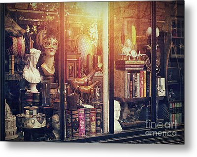 The Curiosity Shop Metal Print by Tim Gainey