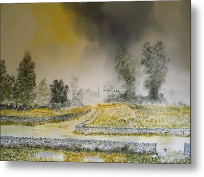 The Dales Metal Print by Andy Davis