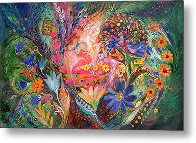 The Dance Of Flowers Metal Print by Elena Kotliarker