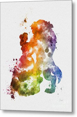 The Dance Metal Print by Rebecca Jenkins