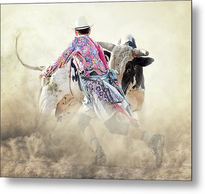 The Dance Metal Print by Ron McGinnis