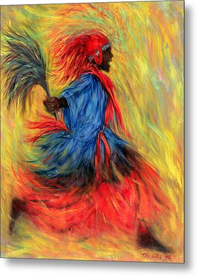 The Dancer Metal Print by Tilly Willis