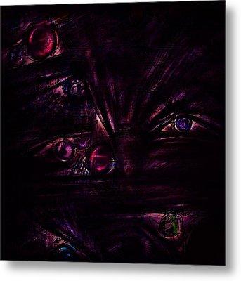 The Deceiver Metal Print by Rachel Christine Nowicki