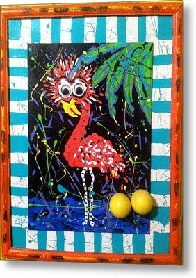 The Dodo Bird Metal Print by Doralynn Lowe