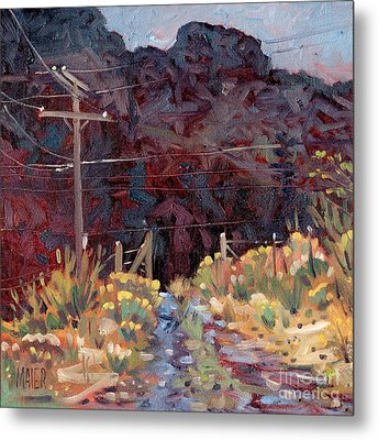 The Driveway Metal Print by Donald Maier