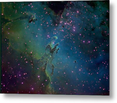 The Eagle Metal Print by Charles Warren