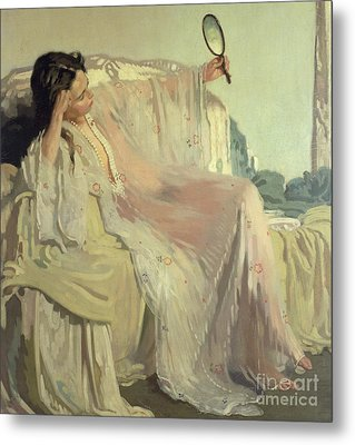 The Eastern Gown Metal Print by Sir William Orpen