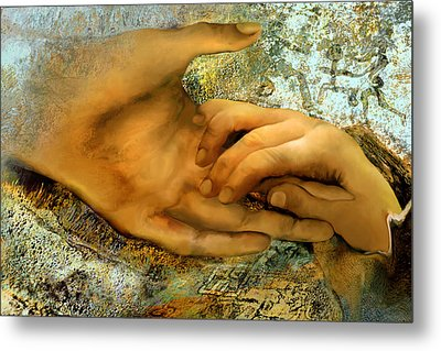 The Everlasting Creation Metal Print by Anne Weirich