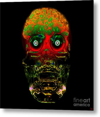The Face Of Man Metal Print by David Lee Thompson