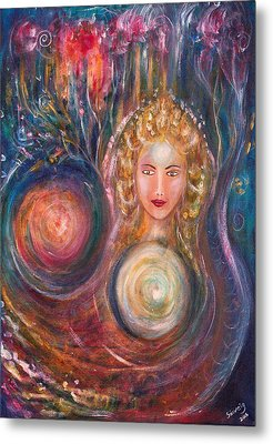 The Fairy Queen Metal Print by Solveig Katrin
