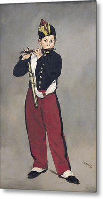 The Fifer Metal Print by Edouard Manet