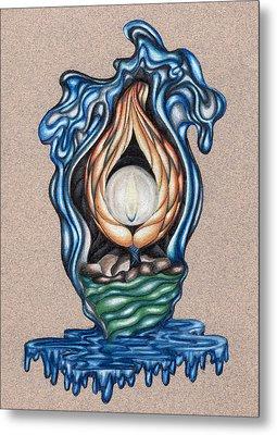 The Flame Never Dies Metal Print by Karen Musick