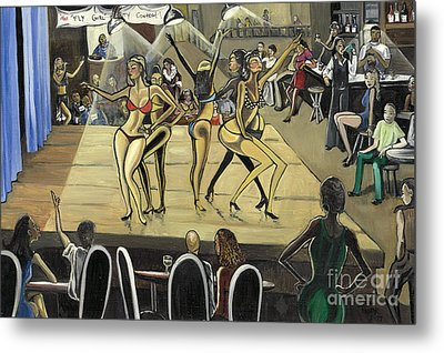 The Fly Girl Beauty Contest Metal Print by Toni  Thorne