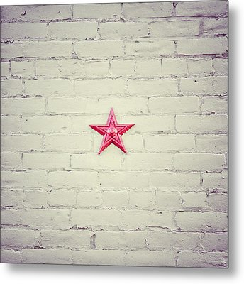 The Folk Star Metal Print by Lisa Russo