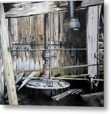 The Forgotten Mill Metal Print by Duncan  Way