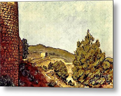The Fort In Lorca Metal Print by Sarah Loft