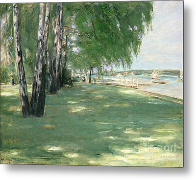 The Garden Of The Artist In Wannsee Metal Print by Max Liebermann