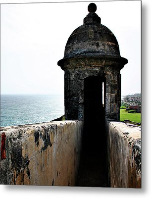The Garitas Of The Fort  Metal Print by Gilbert Artiaga