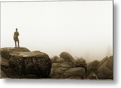 The General's View Metal Print by Jan W Faul