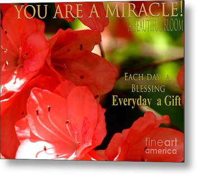 The Gift Metal Print by Gardening Perfection
