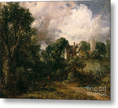 The Glebe Farm Metal Print by John Constable