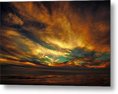 The Glory Metal Print by James Heckt