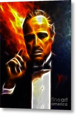 The Godfather Metal Print by Pamela Johnson