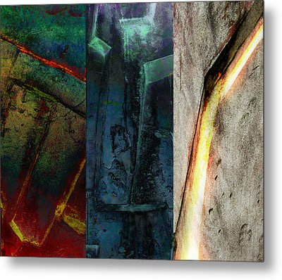 The Gods Triptych 1 Metal Print by Ken Walker