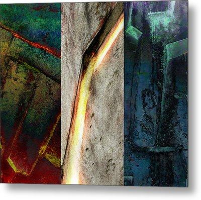 The Gods Triptych 2 Metal Print by Ken Walker