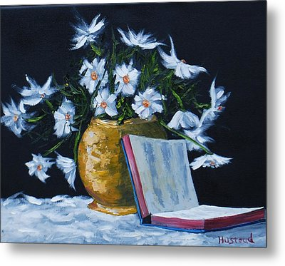 The Good Book... Metal Print by Brian Hustead