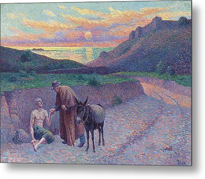 The Good Samaritan Metal Print by Maximilien Luce