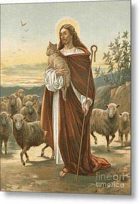 The Good Shepherd Metal Print by John Lawson