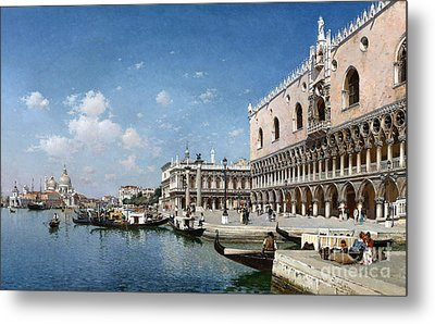 The Grand Canal Metal Print by Celestial Images