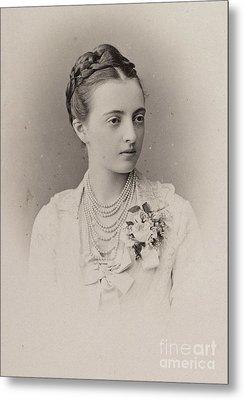 The Grand Duchess Anastasia Metal Print by MotionAge Designs