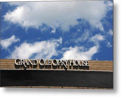 The Grand Ole Opry Nashville Tn Metal Print by Susanne Van Hulst