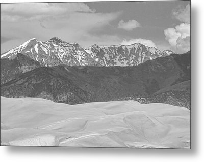 The Great Colorado Sand Dunes  Metal Print by James BO  Insogna