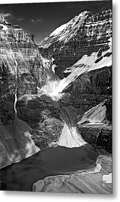 The Great Divide Bw Metal Print by Steve Harrington