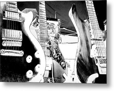 The Guitars Metal Print by David Patterson