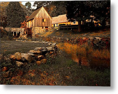 The Hammond Gristmill Metal Print by Lourry Legarde