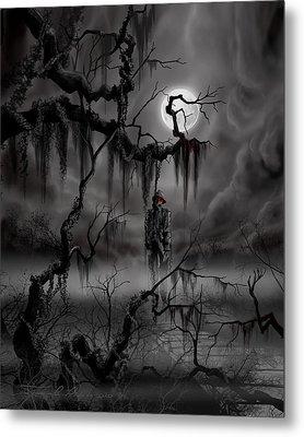 The Hangman Metal Print by James Christopher Hill