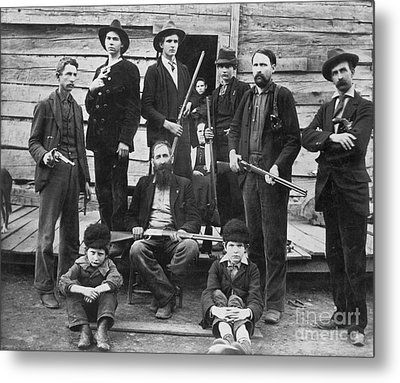 The Hatfields, 1899 Metal Print by Granger