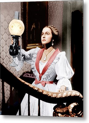 The Heiress, Olivia De Havilland, 1949 Metal Print by Everett