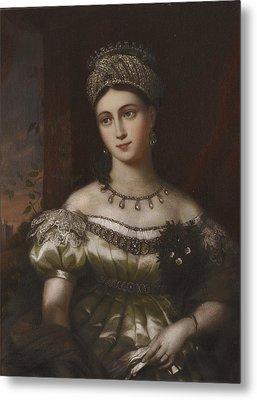 The Hereditary Duchess Of Saxe Gotha Altenburg Metal Print by MotionAge Designs