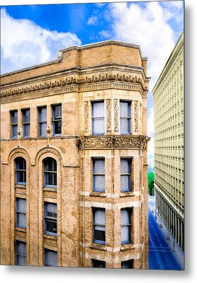 The Historic Equitable Building - Old Atlanta Metal Print by Mark E Tisdale