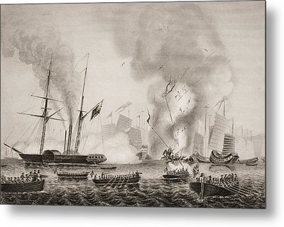 The Hon. East India Company S Steamer Metal Print by Vintage Design Pics
