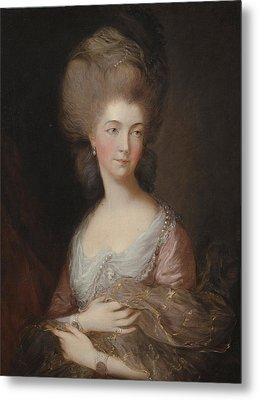 The Hon Mrs Anna Luttrell Duchess Of Cumberland  Metal Print by Celestial Images