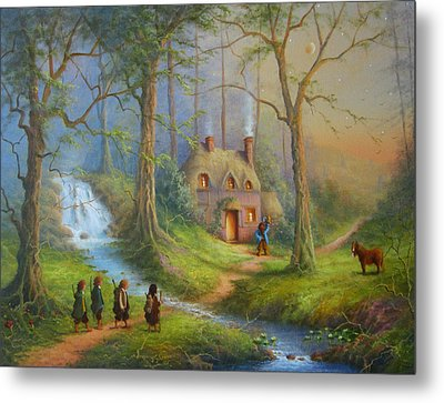 The House Of Tom Bombadil.  Metal Print by Joe  Gilronan