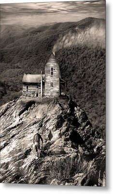 The House Time Forgot Metal Print by Gray  Artus