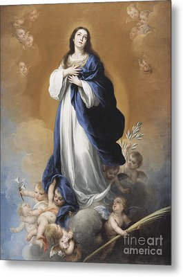 The Immaculate Conception  Metal Print by Bartolome Esteban Murillo