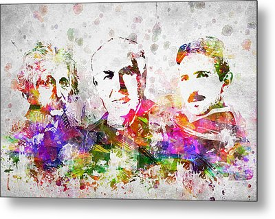 The Inventors Metal Print by Aged Pixel
